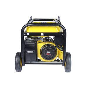 Nuevo 5.0 Kw ruedas y manija Portable Generador Gasolina