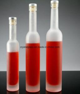 wein-Verpackungs-Alkohol-Glasflasche des Frost-375ml Glas