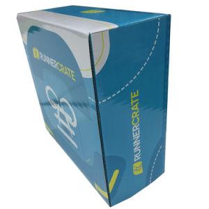 Remova o papel de Papelão Ondulado caixa de sapato com impressão personalizada