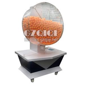 大きい容量の1500年のピンポン球が付いている重力の一突きの宝くじ機械