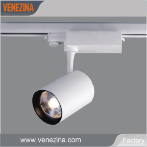 25-40W LED regulable COB Tracklight T6099