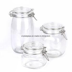 Vedação hermética armazenagem de géneros alimentícios preservar boiões de vidro