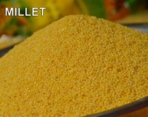 Hoogst Voeding die de Gele Geschilde Gierst van het Selenium van het Voedsel van de Gierst Gezonde Organische voeden