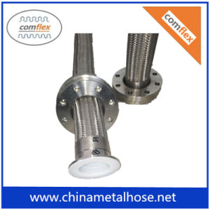 Tressé en acier inoxydable flexible PTFE