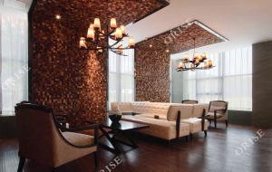 El vestíbulo del Hotel 5 Estrellas en conjuntos de sofás de cuero personalizada