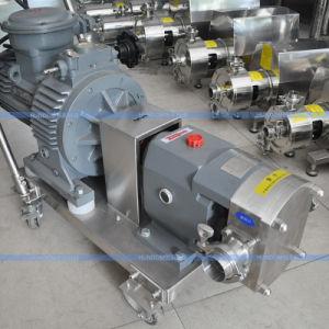 Корпус из нержавеющей стали санитарных выступа поворотный клапан насоса ротора для высокой вязкости жидкости