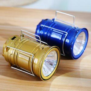 Классический большой солнечной кемпинг светодиодный индикатор с зарядного устройства постоянного тока