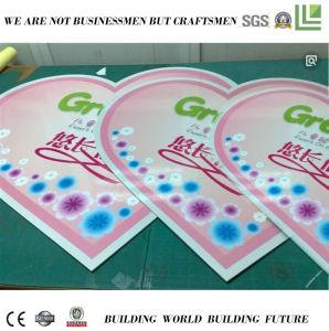 Het adverterende Volledige Van de Kleurendruk AcrylBlad van het pvc- Schuim