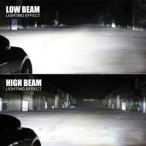 Super brillante H4 H7 H11 9005 9006 9007 tres lados de alta potencia 12V 24V 8000LM Auto LED Bombilla del faro H7