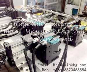 Лотерея печати струйный принтер для переменных данных штрих-код и серийный номер машины с высокой скоростью Hewlett Packard непрерывной растворитель система подачи чернил