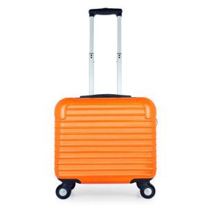 18'' la promoción de ventas de rayas horizontales de la maleta ABS barato embarcar el equipaje de negocios Venta online