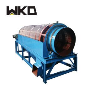 Riga della lavatrice del crivello a tamburo dell'oro dell'argilla di capacità elevata nell'Uganda