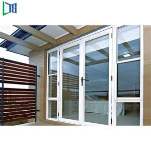 Portello di vetro della stoffa per tendine residenziale della Camera di disegno di modo con la rete di zanzara