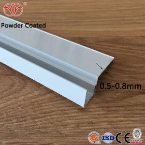 Ventana corrediza de aluminio anodizado de perfiles de Vía y Puerta.