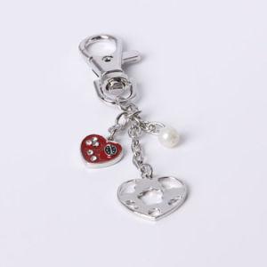 Modo Keychain rosso con i diamanti per le donne
