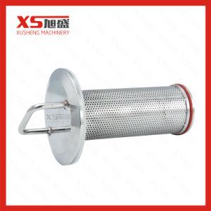 En acier inoxydable Butt-Welding sanitaires y crépine du filtre
