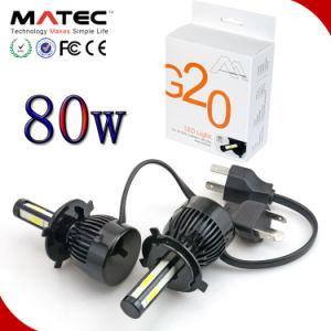 新しいデザイン48W 4800lmユニバーサルH4車LEDヘッドライトD1 D2 D3 D4 5202 9012