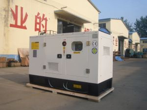 50 Kw gerador diesel silenciosa com arranque eléctrico