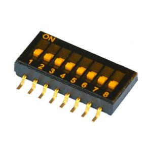 電子高温抵抗8poles PCBのディップスイッチ