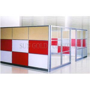 Populares barata de la Oficina utiliza la mitad baja de la partición de la pared de vidrio (SZ-WS587)