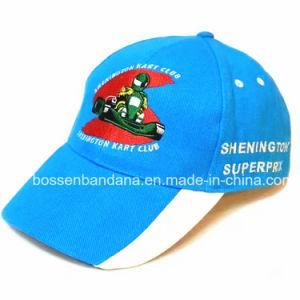 OEM de fábrica de logotipo personalizado bordado azul de sarga de algodón Gorra  deportiva f2e31339f80