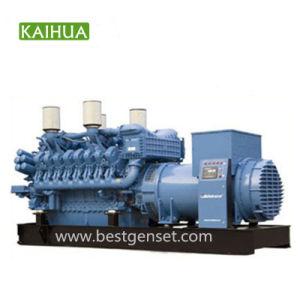 2000KW motor Mtu conjunto Gerenator Diesel tipo abierto