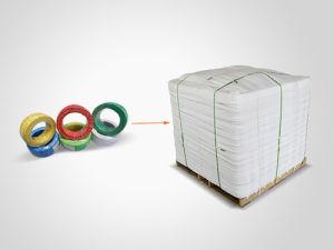 O material condutor de cobre com isolamento de PVC 10mm2 Fio de construção