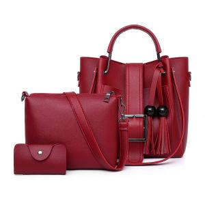 La mode et de la courroie Tassel Fashion sacs fourre-tout 3PCS Multi-Element Fashion Sacs de PU