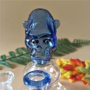 Mini Pipa de cristal de cerámica de vidrio del tubo de Wate tazón de vidrio con 1 de PERC (GB-369)