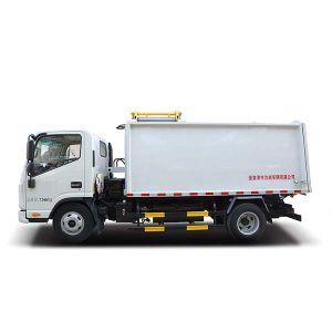 MD5075zzz 4X2 7CBM JAC caminhão de lixo do tipo de compressão com motor diesel