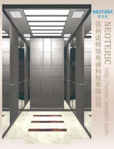 Belle&Faible bruit de cabine pour l'ascenseur panoramique