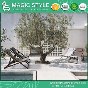 Для использования вне помещений для отдыха с помощью строп стул сад текстильной Lounge стул балкон Складной стул веранда патио стул отель проекта текстильной мебель
