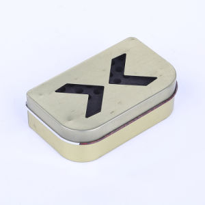 Fabricante OEM personalizar Kit de Ferramenta pequena Forro Caixa de estanho metálico