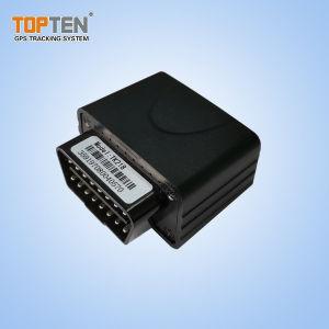 Fácil de instalar OBD2 carro Rastreador GPS com diagnósticos, o consumo de combustível- (TK218-FE)