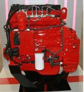motore diesel Isde210 40 di raffreddamento ad acqua di 6cylinder Cummins 210HP