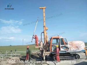 142mm de porosidad de la lechada Mjs el método 2m-4m montón Crawler Perforación