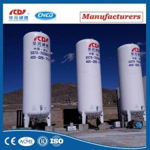 Azoto líquido do tanque de armazenamento criogénico