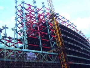Edificio de estructura de acero de gran altura (HX12070512, ha exportado 200, 000 toneladas)