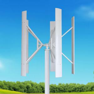 100W de la turbina de viento generador de precios de cuadrícula para sistemas solares domésticos