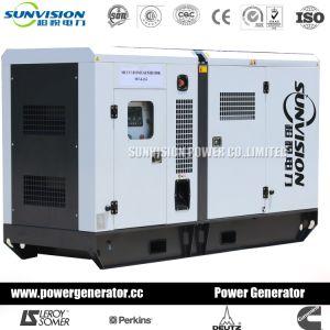 40КВТ 50 ква звукоизолирующие дизельного двигателя Cummins генератор