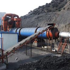 Роторный сушильщик для опилк, песка, известняка (Dia1800x12000)