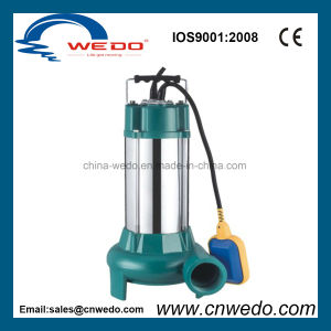V750 고품질 잠수할 수 있는 수도 펌프 (0.75KW/1HP)