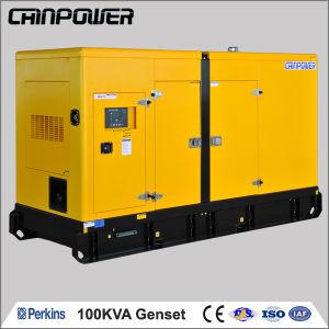 イギリスのパーキンズ著熱いSale 220 Volt Dynamo 100kVA Diesel Generator