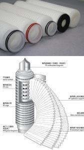 Cartuccia di filtro alcalina dall'acqua dai 0.2 micron per il sistema di trattamento di acqua