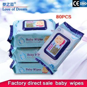 Fiado rendas não tecidos e fraldas para adultos sem álcool tecido molhado toalha molhada personalizada de fábrica toalhetes de bebé