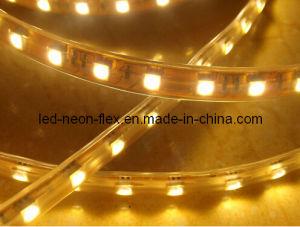 Moldeo por inyección tipo media luna tira flexible de leds de alto brillo con aprobación CE