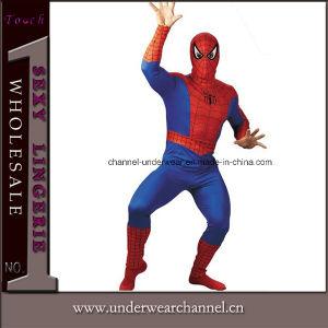 Les hommes d'halloween Spider manchon Long Body Costume adulte (0043)