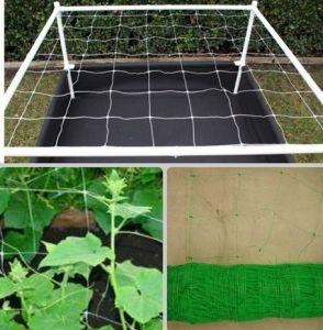 17*15cm extrudidos de condução da rede de suporte de plantas verdes