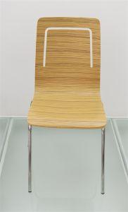 Оранжевый обеденный стул древесины для ресторан исследование письменный стол Кафе Кафе