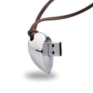 USB istantaneo Pendrive Keychain di memoria 2GB del bastone di Jewellry del cuore del diamante